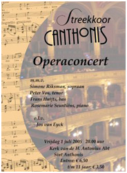 Operaconcert 2005 Canthonis